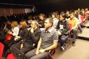 vista del públic assistent
