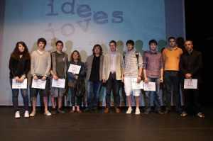 foto dels guanyadors idees joves 2008-09